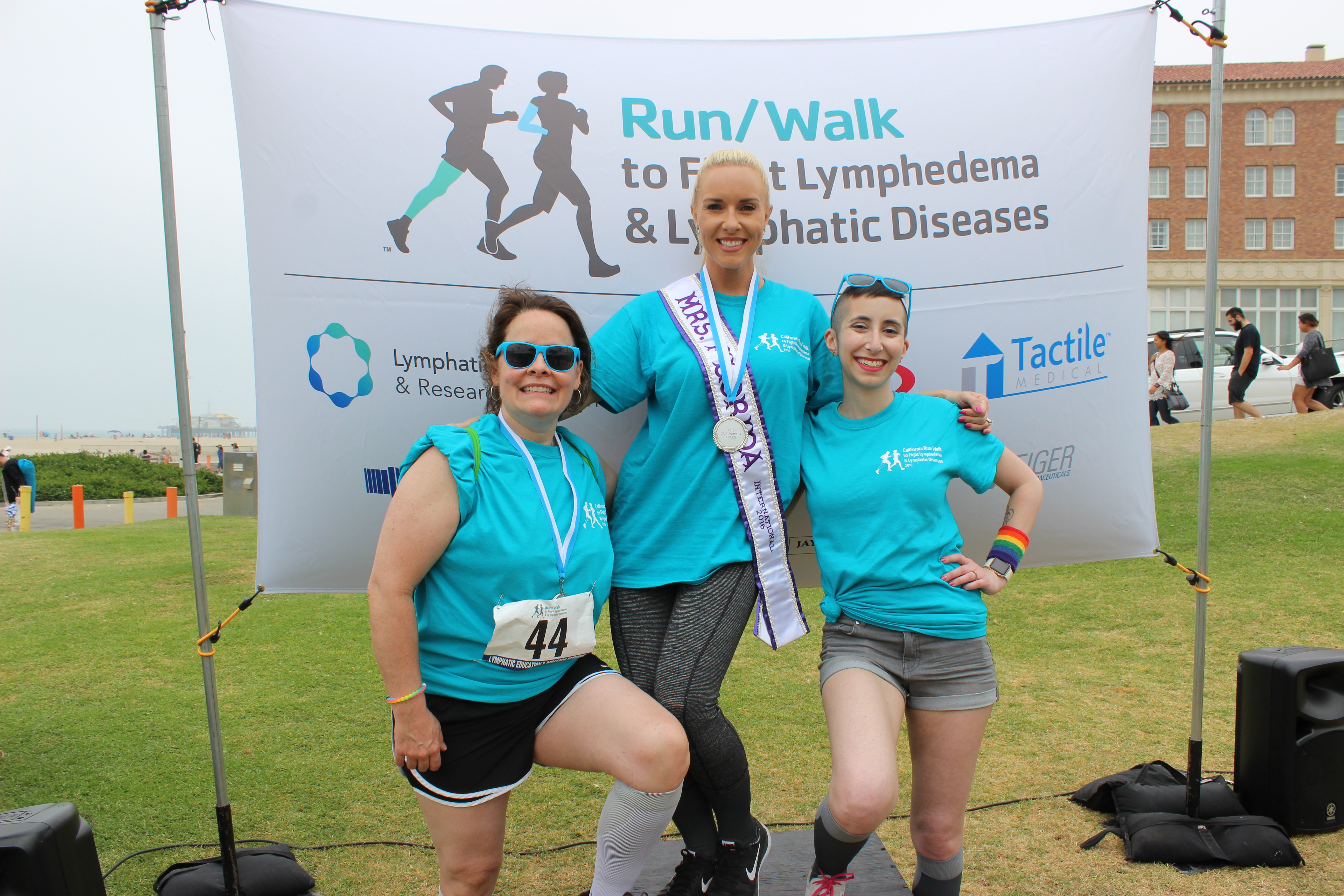 Maureen, Amy & Robin at CA Run/Walk