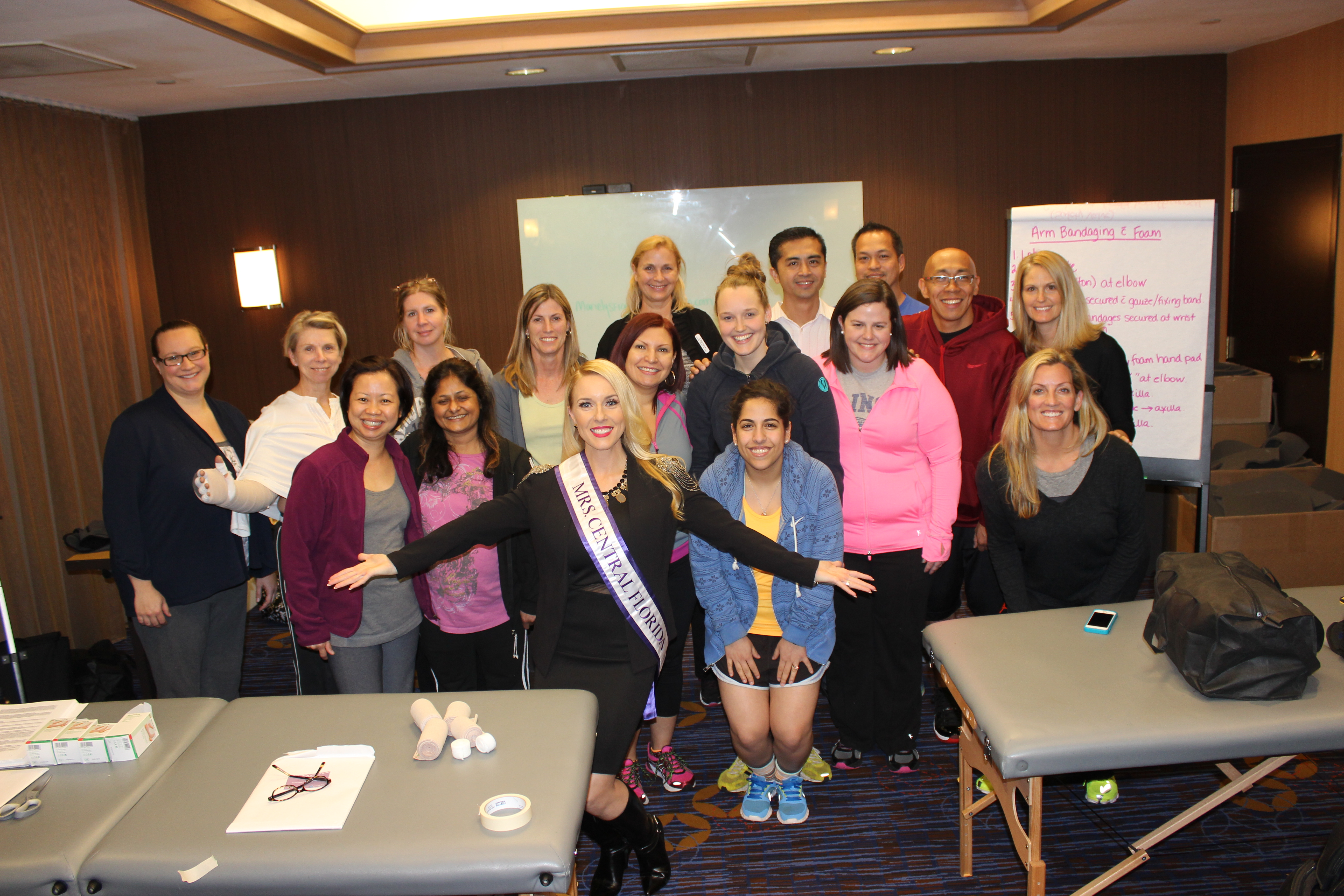 Amy Santiago_Lymphedema Event