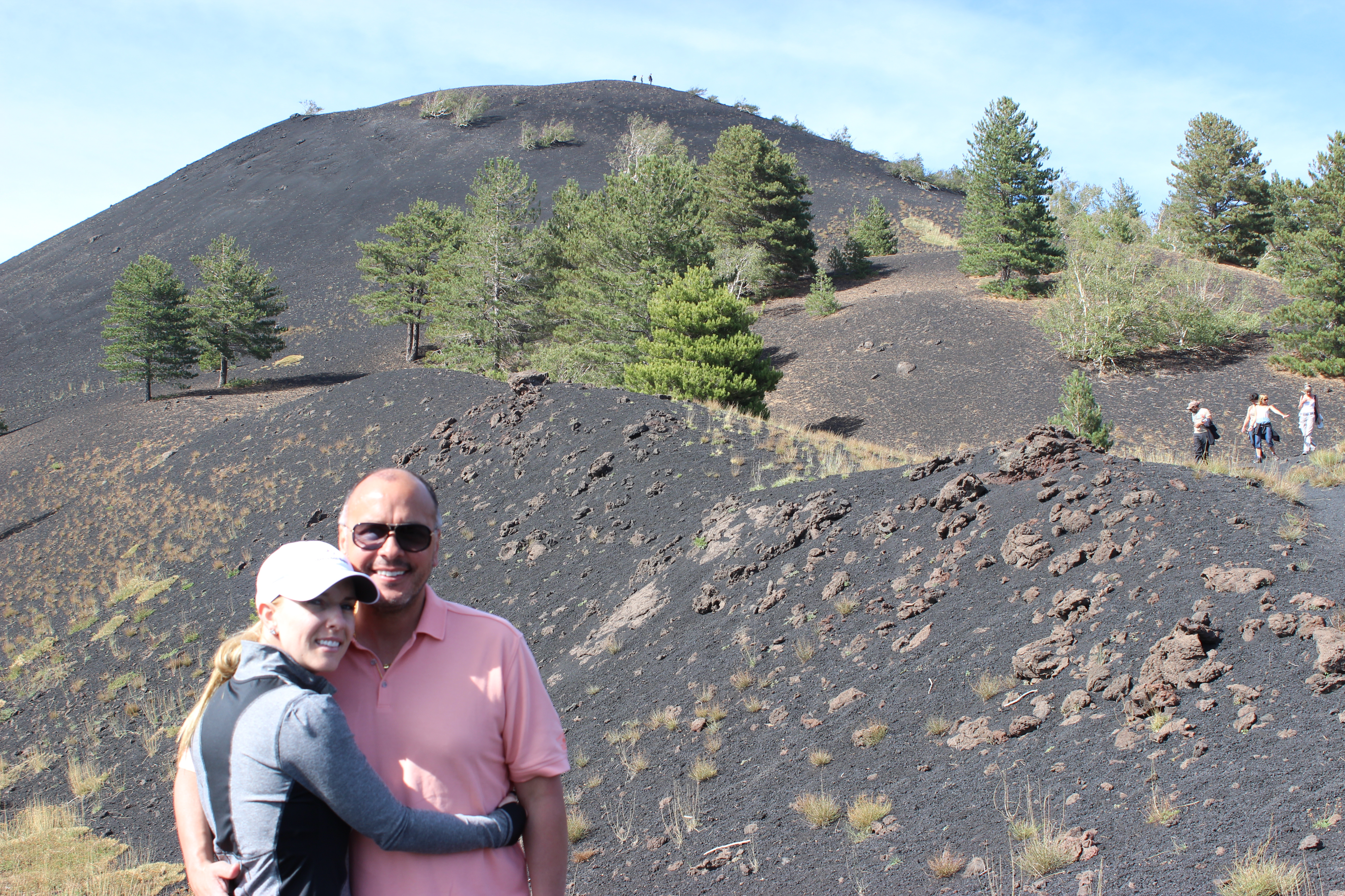 Amy and Ruben Santiago_Mt.Etna Italy