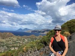 Amy Santiago_Lipari, Italy