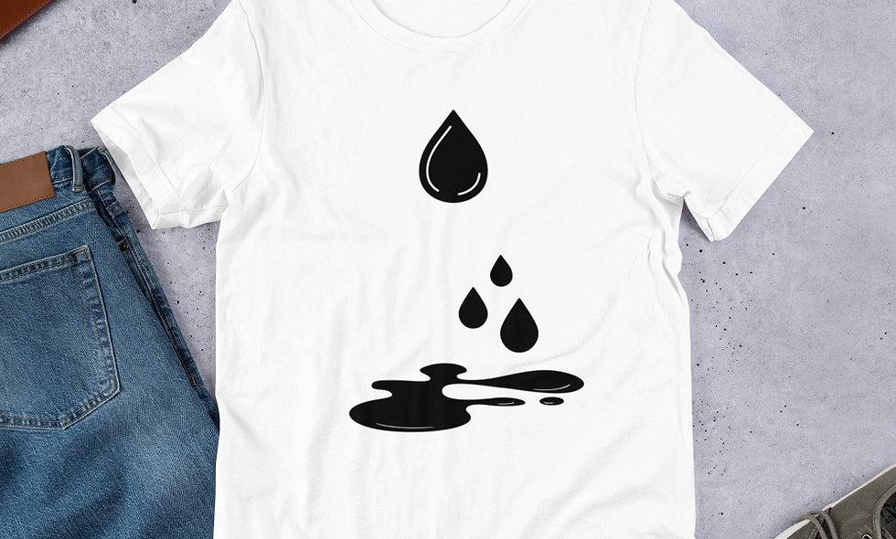 Short-Sleeve Unisex T-Shirt ink drops