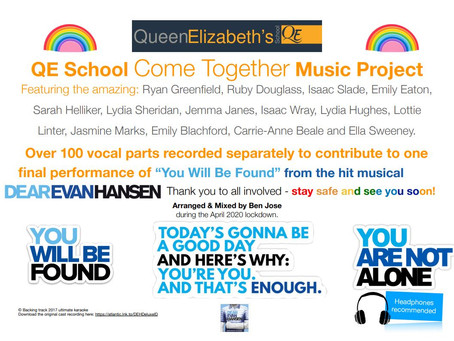 QE Come Together Music Projects