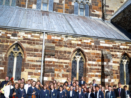 Our Year 9 Welcome Service was an amazing success - click here to hear  music and songs from afterno