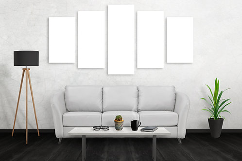 5 Way Split Canvas Print - MED