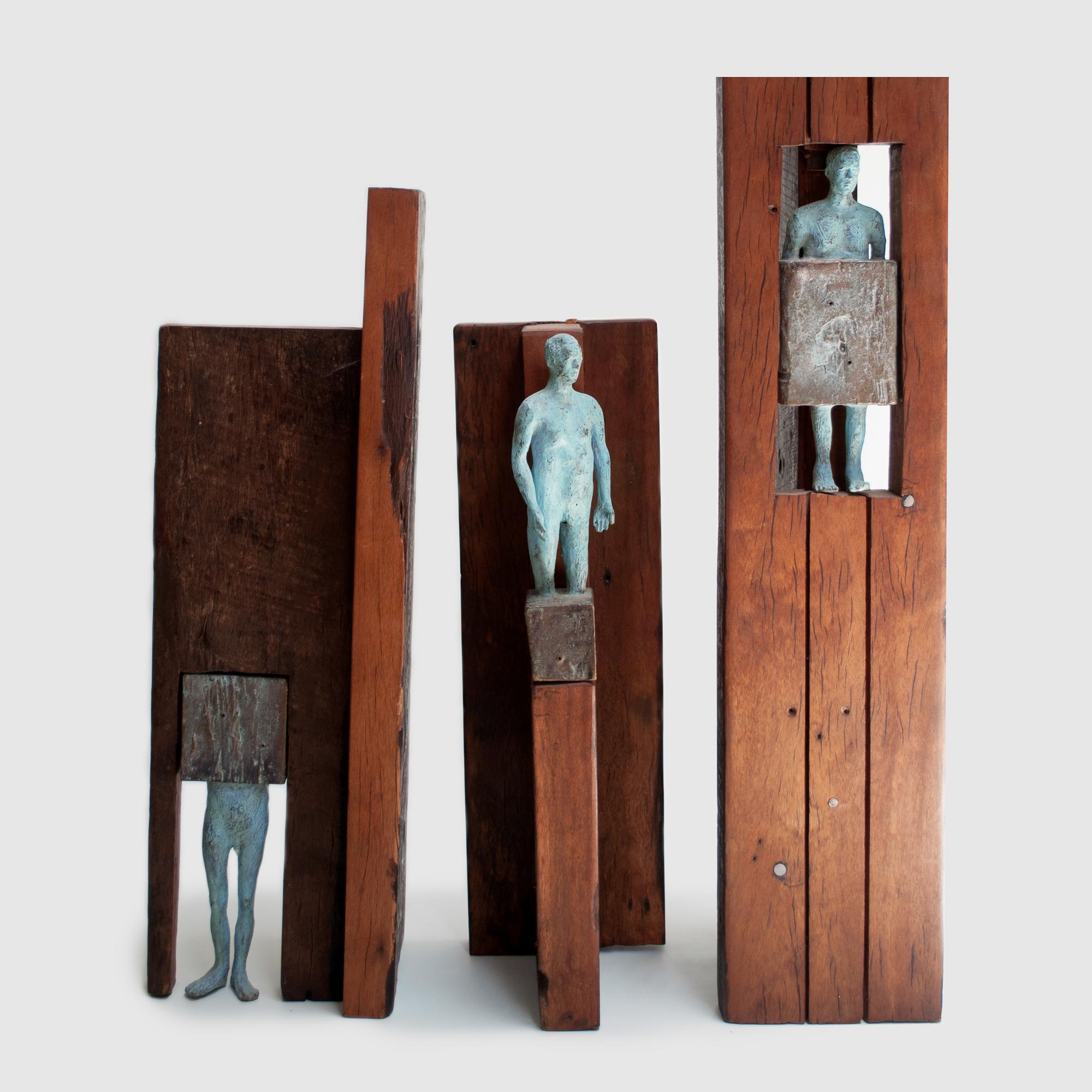 72. Ensamble madera segmentos cuerpo