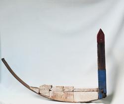 6. Balsa poste rojo - lata azul