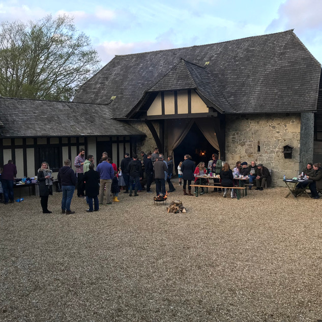 Smaller Barn & Courtyard
