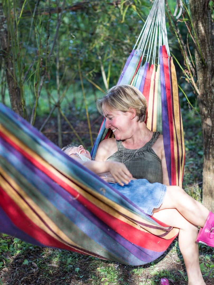 Relexing in the hammock
