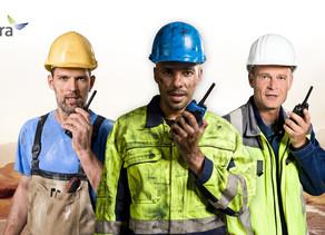 Hytera ayuda a mantener los Sitios de Construcción Eficientes y Seguros