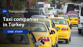 La Solución de Hytera Aumenta la Productividad de las Empresas de Taxis Turcas