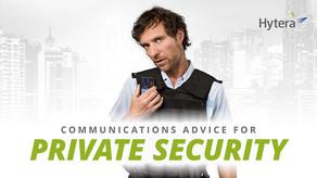 Comunicaciones para la Seguridad Privada