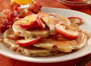 Pancakes de Manzana y Canela