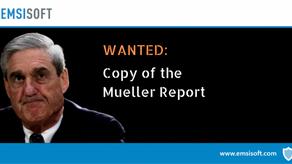 PSA: Mueller informa que el malware está en camino, probablemente!