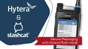PMRExpo: con stashcat®, Hytera tiene un socio de aplicaciones sólido en su stand