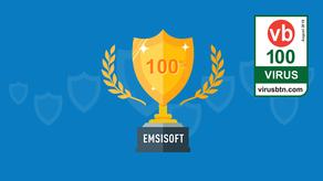 Emsisoft Anti-Malware Obtiene la Certificación VB100 para Agosto de 2018