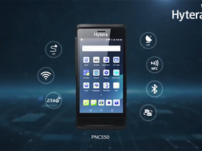 PNC550: El Teléfono Inteligente Android de Hytera con diseño PTT