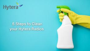 5 Sencillos pasos para Limpiar y Desinfectar una Radio