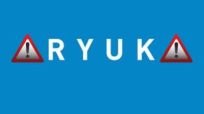 ¡Precaución! El descifrador de Ryuk Ransomware daña archivos más grandes, incluso si paga