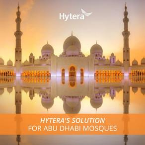 Abu Dhabi Adopta el Sistema de Alerta Pública de Hytera para sus Mezquitas
