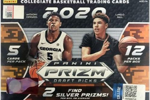 2020 Prizm Draft Picks Basketball Mega Box (Full Box Rip)