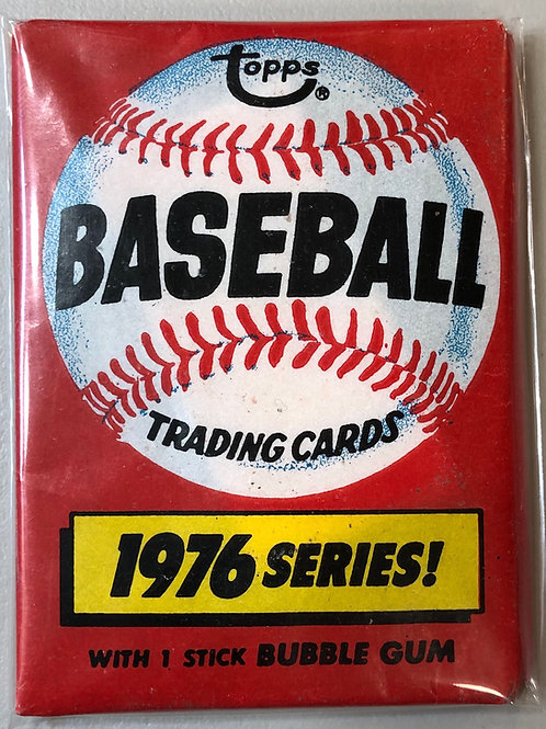 1976 Topps Baseball Wax Pack (Personal Pack Only)
