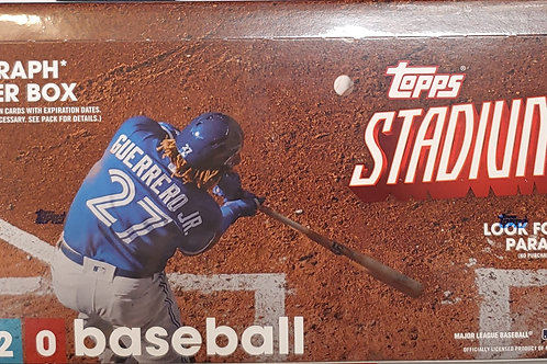 2020 Topps Stadium Club Baseball (Personal Pack Only)
