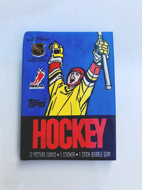 1988 Topps Hockey Wax Pack (Personal Pack Only)