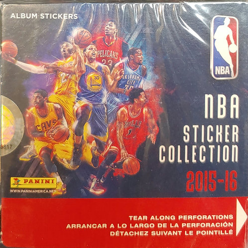 2015 NBA Sticker Collection Pack (Personal Pack Only