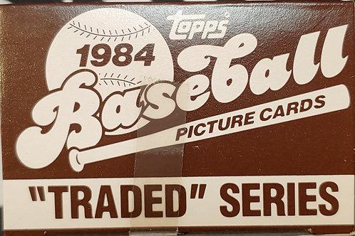 1984 Topps Traded Set (Full Box Rip)