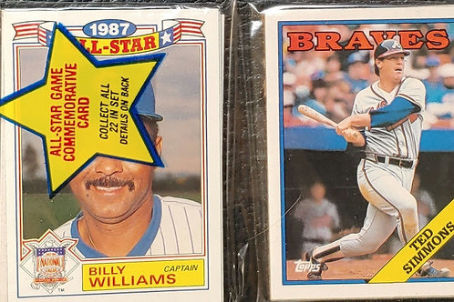 1988 Topps Baseball Rack Pack (Personal Pack Only)
