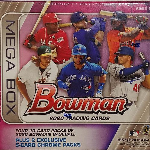 2020 Bowman Baseball Mega Box (Full Box Rip)