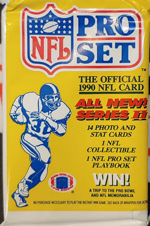 1990 Pro Set NFL Series 2 Pack (Personal Pack Only)