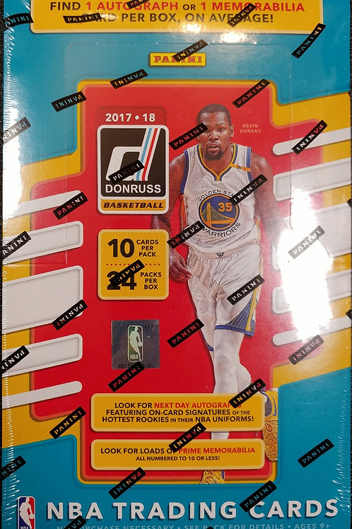 2017 Donruss Hobby Basketball (Personal Pack Only)