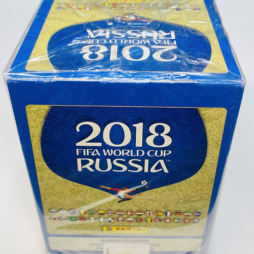 2018 FIFA World Cup Soccer Stickers (Personal Pack Only)
