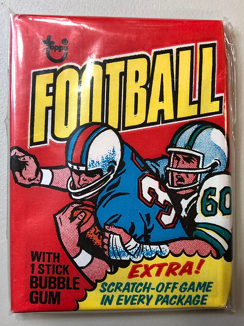 1975 Topps Football Wax Pack (Personal Pack Only)