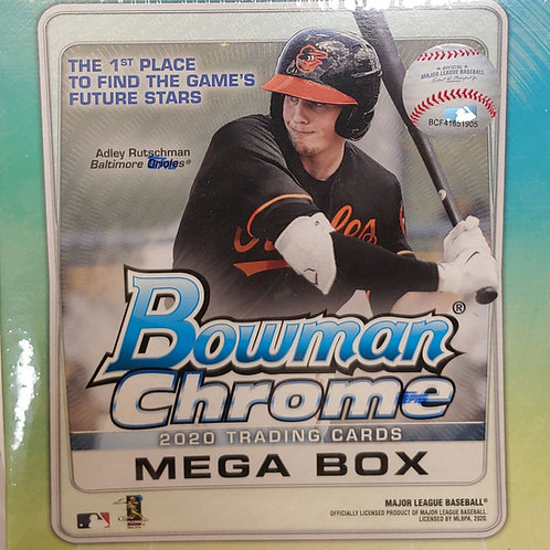 2020 Bowman Chrome Baseball Mega Box (Full Box Rip)