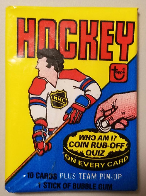 1980 Topps Hockey Wax Pack (Personal Pack Only)