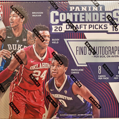 2016 Contenders Draft Basketball (Personal Pack Only)