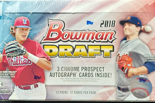 2018 Bowman Draft Baseball Jumbo Pack (Personal Pack Only)