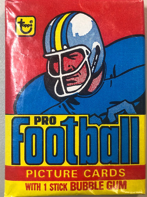 1978 Topps Football Wax Pack (Personal Pack Only)