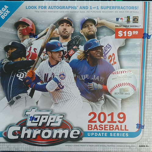 2019 Topps Chrome Update (Full Box Rip)