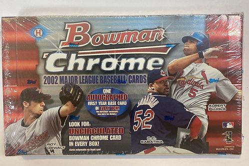 2002 Bowman Chrome Hobby Baseball (Personal Pack Only)