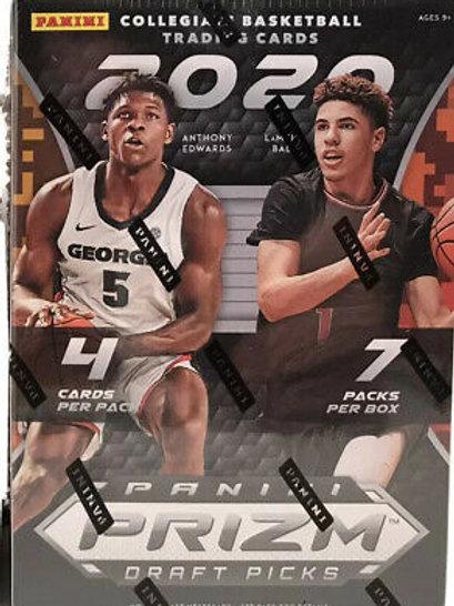 2020 Prizm Draft Picks Basketball Blaster Box (Full Box Rip)