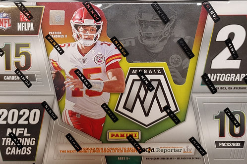 2020 Mosaic Football Hobby Pack (Personal Pack Only)