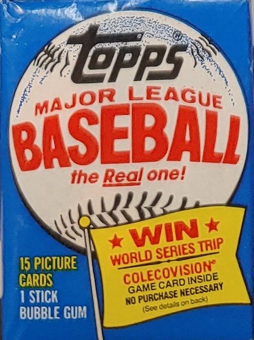 1983 Topps Baseball Wax Pack: 15 Spot Random Card Group Break