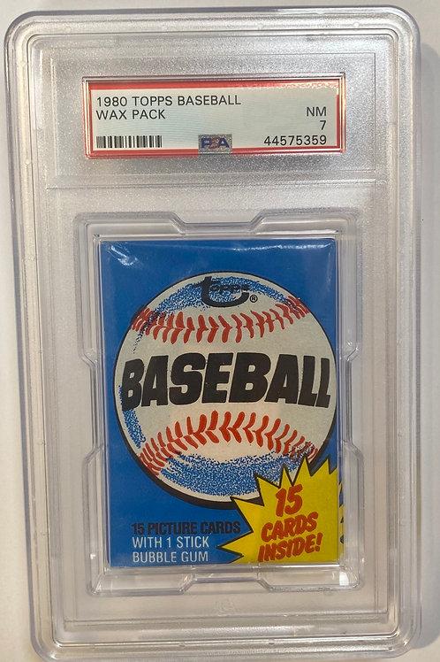 1980 Topps Baseball PSA 7: 15 Spot Random Card Group Break