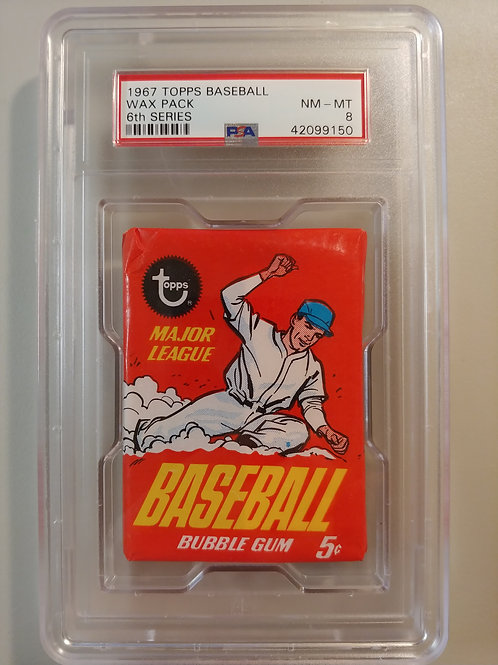 1967 Topps Baseball 6th Series Wax Pack (Personal Pack Only)