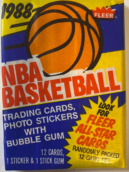 1988 Fleer Basketball 13 spot random Card Group Break