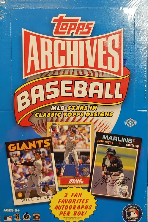 2012 Topps Archives Baseball (Personal Pack Only)