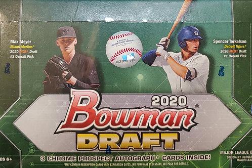 2020 Bowman Draft Baseball Hobby Jumbo (Personal Pack Only)